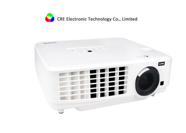 3LCD 3LED Portable Hdmi Projector , High Lumen Led Projector CRE X1800