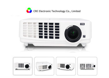 Mini Portable HDMI LED Projector Multimedia 1080p For Business / Education