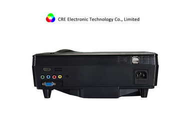 CRE 1080p Mini LED Projector HD , Small Video Projector For Home / Business Use