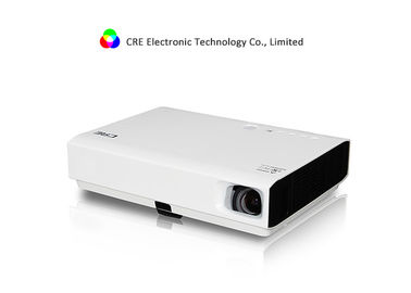 DLP 3D HD LED Projector 1080p 3000Lumens , DLP Smart Home Theater Projector