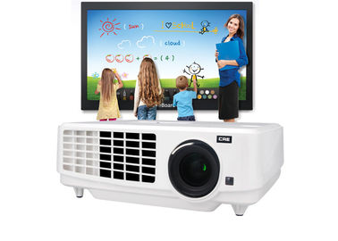 China 3LCD 3800 Lumens Multimedia Mini Led Projector For Education / Business supplier