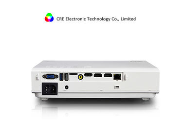 1080P Portable LED Projector With 4.4 Android System Native Resolution 1280x800