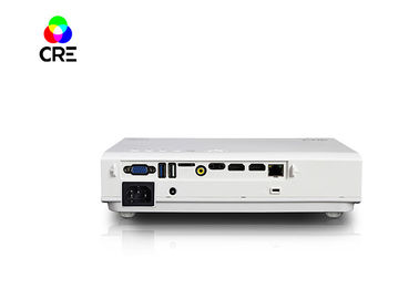 CRE DLP LED HD 3D Projector , Led Video Projector Build In Android 4.4 System