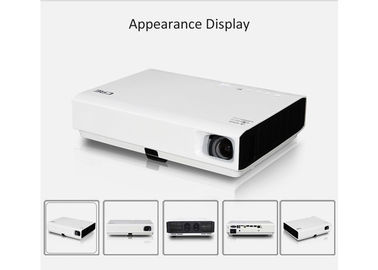 3D Hd Led Projector 1080p For Home Cinema , DLP Portable Led Projector 3000 lumens