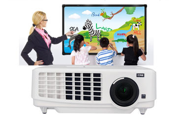 China Universal Remote Control 3LCD Projector For Education Purpose With USB HDMI VGA supplier