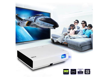 3D Android Smart HDMI LED Projector , LED Video Projector For Laptop / PC
