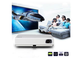 China 1080P LED Android Mini Projector With Wifi  , 3000 Lumens Bluetooth Video Projector supplier