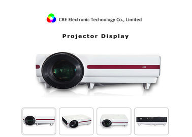 China CRE X1500 LED Video Home Cinema Beamer Built In Speaker Waterproof supplier