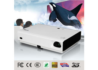 60W 3D DLP LED Projector For Home Theater , Commercial 3D Led Projector