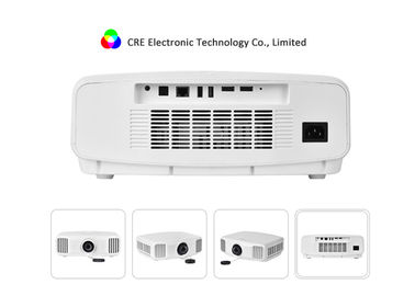 Native 2K 3300 lumens 3LCD LED Projector 130W Power For Home Entertainment