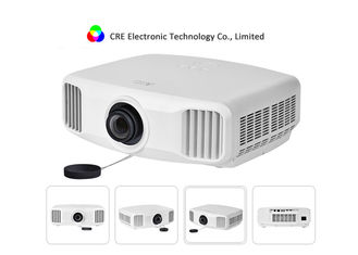 RAM 3GB / ROM 16GB 3LCD LED Projector , Home TV Active Shutter 3D Projector