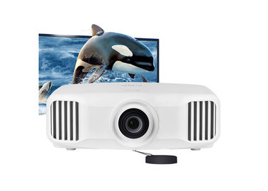 Full HD 3D Mapping 4K Android Smart Projector 3LCD 3300 Lumens For Education