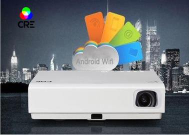 High Definition Multimedia 3D DLP LED Projector CRE X3001 OEM / ODM Service