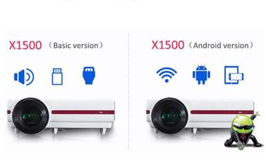 Digital LCD LED Multimedia Projector For Education Tender With 20000 Lifetime