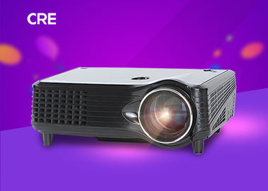 Native 800X480 Home Entertainment Projector 5.0 Inch Single LCD Projection System