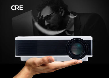 China 4.0 Inch Single LCD Projector Home Theater , Home Video Projector Full Color supplier
