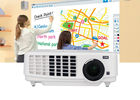 China Commercial 3LCD 3LED Video Projector For Tablet PC Data Show Presentations company