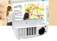 Ceiling Mount Digital RGB Video LED Projector 3800 Lumens For Business / Home