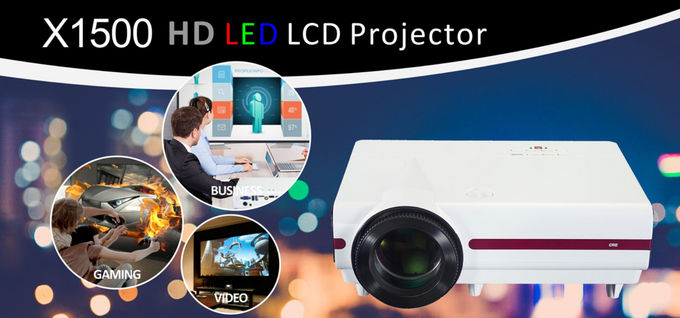 Mini Portable Led Projector 1080p For Powerpoint Presentations